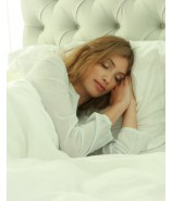 Pillow. firm, goose down and feathers, Trio Deluxe