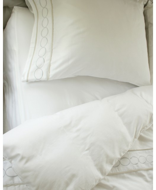 Fitted sheet Egyptian cotton, various colours, sateen, 300 TC, Sag Harbor