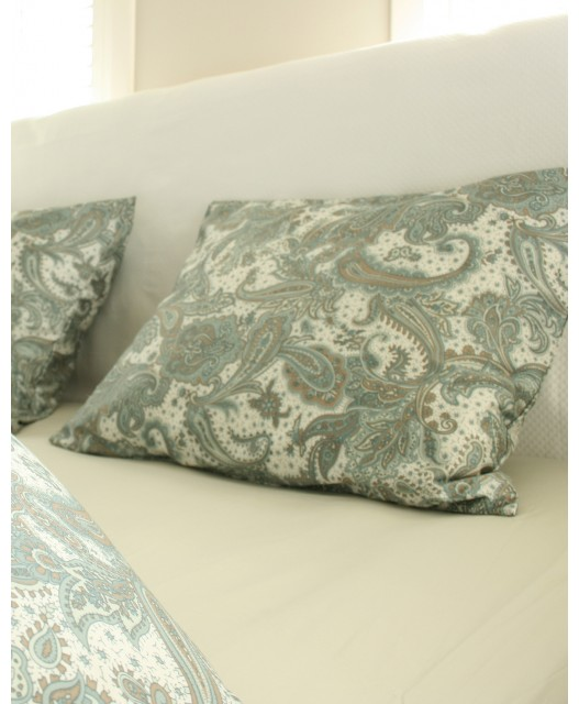Duvet cover Paisley print, various colours, sateen 400 TC, Sylt
